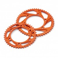 Rear Aluminium Sprocket Orange 42/45/48/49/50/51/52T