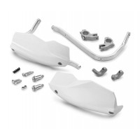 Handguard kit white [690 Duke/ 1050/1190 Adventure/ 1290 Super Adventure]
