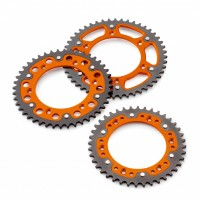 GENUINE KTM 2K REAR SPROCKET ORANGE 584100510XX04-846