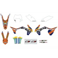 KTM FACTORY ENDURO GRAPHICS KIT 78708990200