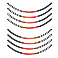 GENUINE KTM RIM RING STICKER SET 78109999000