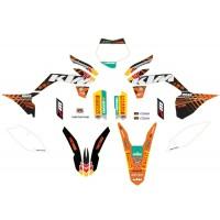 GENUINE KTM 85 SX 13-14 FACTORY GRAPHICS KIT