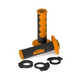 GENUINE KTM LOCK ON GRIP SET 85SX 03-14