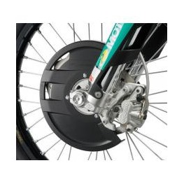 KTM FRONT BRAKE DISC GUARD SX/EXC UP TO 260MM DISC