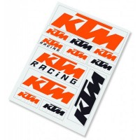 GENUINE KTM STICKER SHEET 3PW0671000