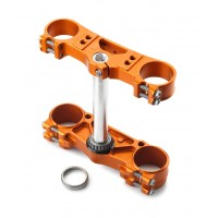 Triple Clamp 20Mm Offset Orange