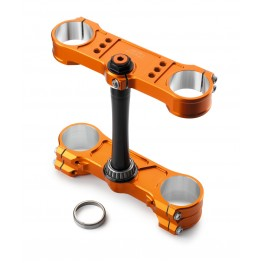 Factory Triple Clamp 20/22 Orange