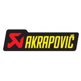Akrapovič sticker 60005099003