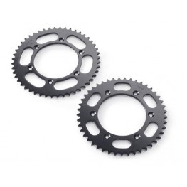 Rear sprocket black