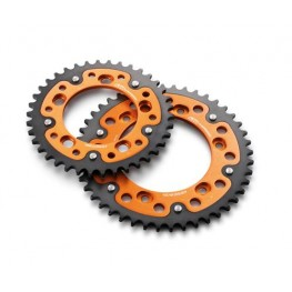 Supersprox stealth rear sprocket Orange/Black