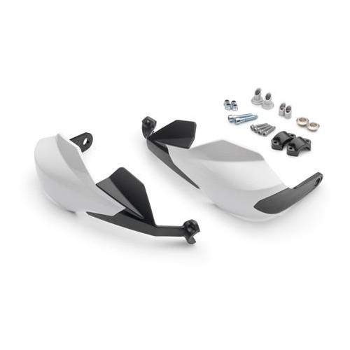 Handguard kit White - White/Black (390 Duke)