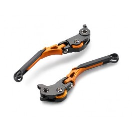Brake and clutch lever set - foldable & adjustable