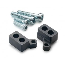 Factory steering damper bracket