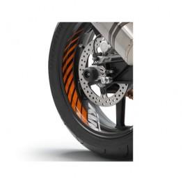 Wheel rim sticker kit Orange (Duke/ Supermoto/ RC8)