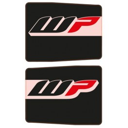 Protective fork sticker set black (for all 48 mm forks)