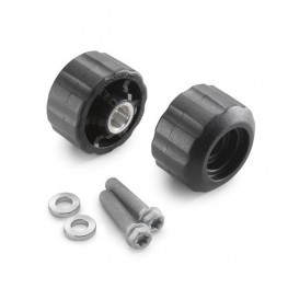 Crash bung rear black (390 RC / Duke)