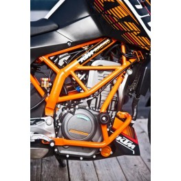 Crash bar kit orange 390 Duke 2013-16