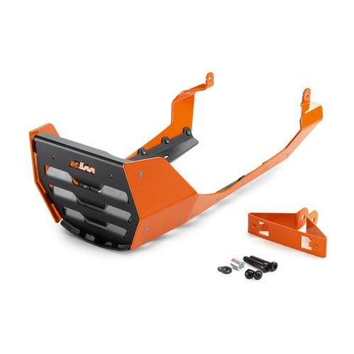Front spoiler Aluminium Orange/Black  690Duke 2012-15/ 690Duke R 2013-17
