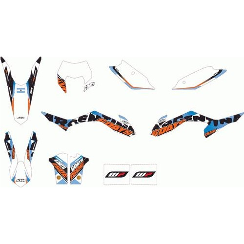 Argentina Six Days graphics kit EXC/F 2014-15