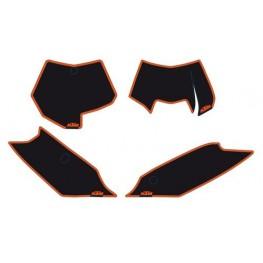 NO.PLATE BACKGR. BLACK SX/EXC 2012-13