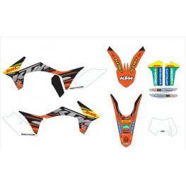 Factory graphics kit EXC/F 2012-13