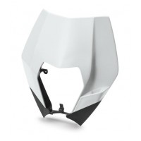 HEAD LIGHT MASK WHITE EXC/F  // 690 ENDURO/R 2008-11