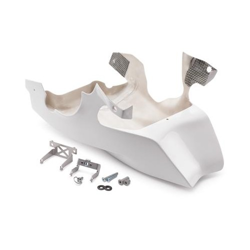 Front spoiler white RC 390 2014-15