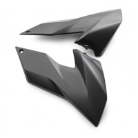 SPOILER KIT BLACK FREERIDE 250F 18 / 250R 14-17 / 350 13-17
