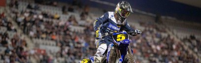 Larwood Leads WBR Yamaha Charge in Stunning MX2 Debut