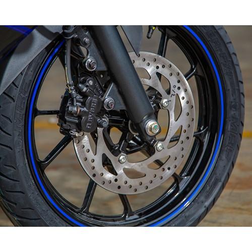 Larger brakes