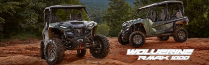 Introducing the all-new Wolverine RMAX2 1000 XT-R and RMAX4 1000 XT-R