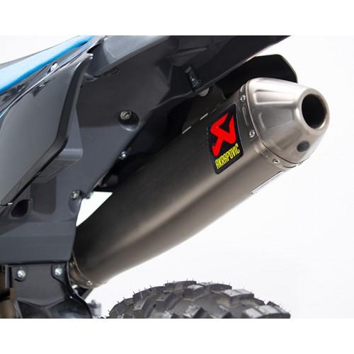 Mass-centralised wraparound exhaust