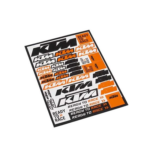 KTM STICKER SHEET
