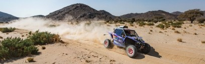 Successful Debut for the X-raid Yamaha Racing Rally Supported Team