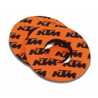 GENUINE KTM GRIP DOUGHNUTS SET U6951716
