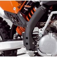 KTM FRAME GUARD SET BLACK SX / SX-F 07-10 EXC / EXCF 08-11
