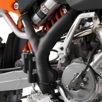 GENUINE KTM FRAME GUARD SET BLACK 65SX 09-15-1